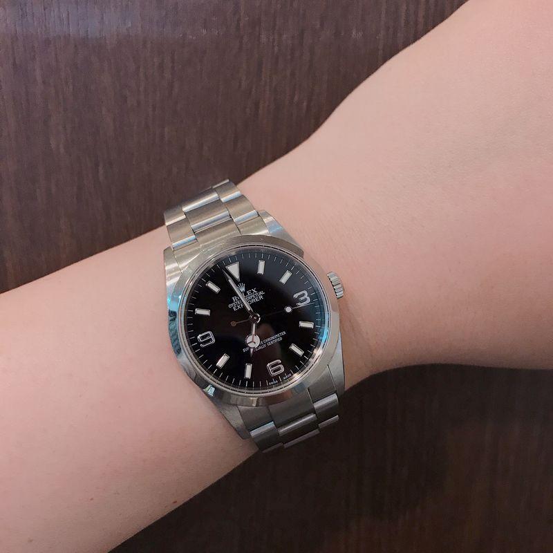 cheap for discount 9f1b9 bca89 ROLEX(ロレックス)エクスプローラーⅠ 114270 F番 腕時計 ...